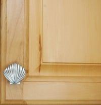 scallop cabinet knob small