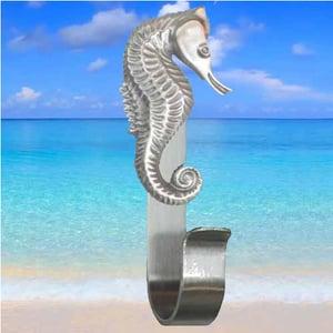Seahorse towel hook
