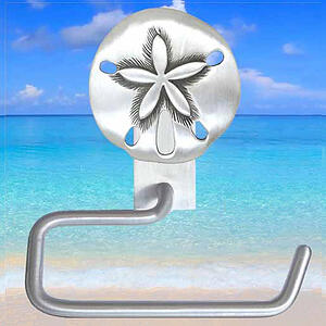 Sand Dollar Toilet Paper Holder