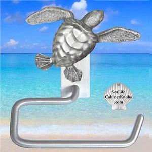 Sea Turtle Hand Towel Hanger