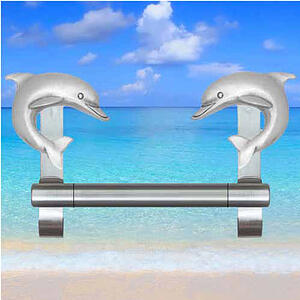 Towel Bar Dolphin