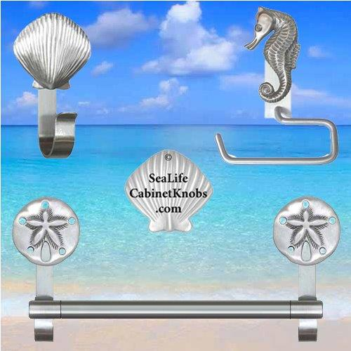 Enhancing your beach bathroom decor part 2 [using wall mounted hardware]